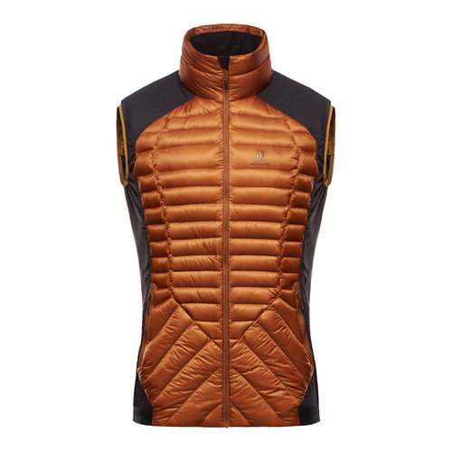 LIGHT DOWN INSULATION STRETCH VEST (Black Yak)